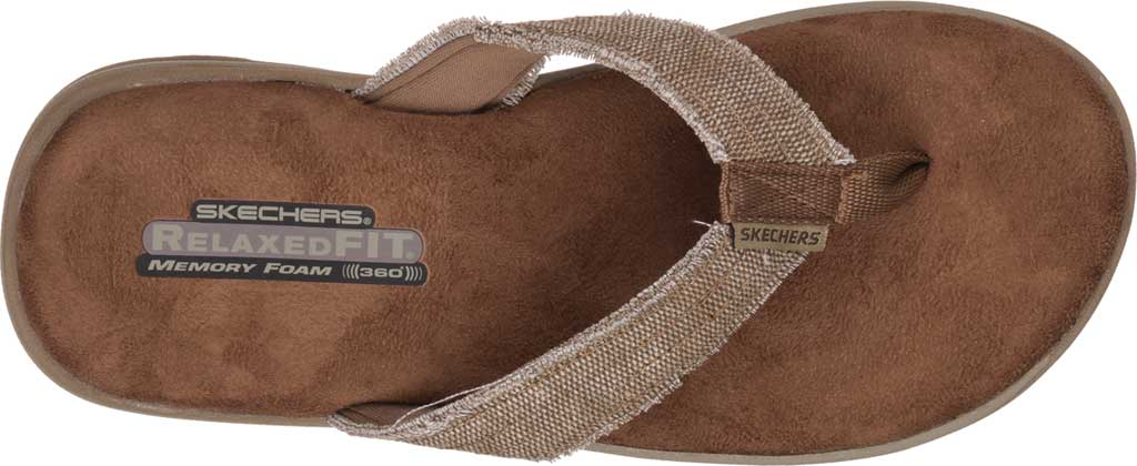 Men's Skechers Relaxed Fit Supreme Bosnia, Natural, large, image 5