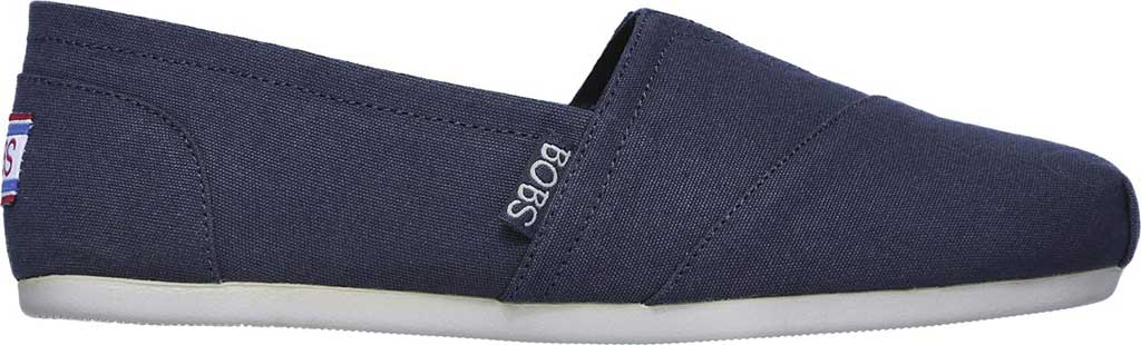 Women's Skechers BOBS Plush Peace and Love, Dark Navy, large, image 2