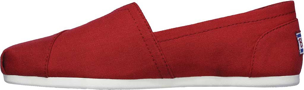 Women's Skechers BOBS Plush Peace and Love, Dark Red, large, image 3