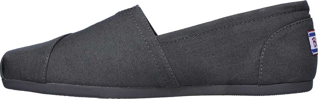 Women's Skechers BOBS Plush Peace and Love, Dark Gray, large, image 3