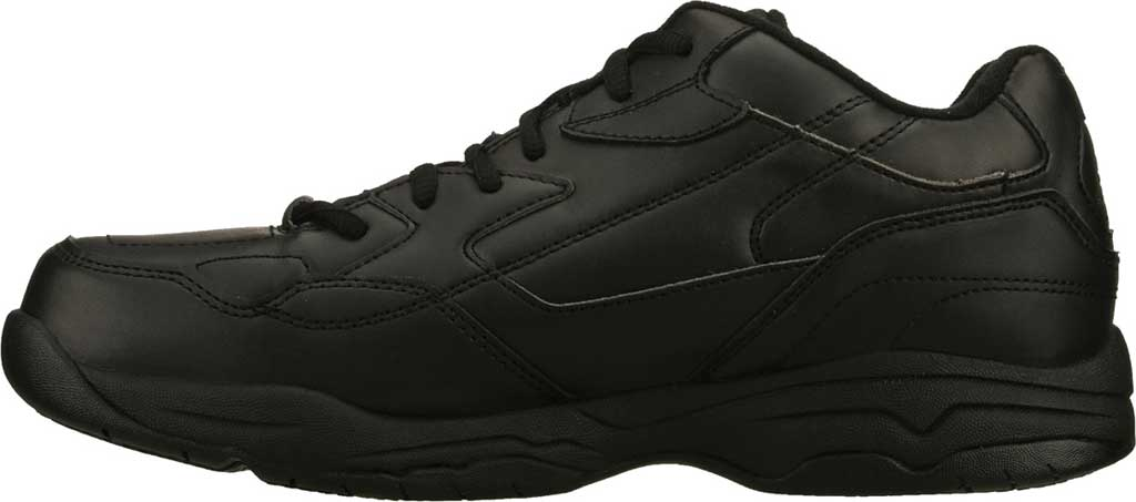 Men's Skechers Work Relaxed Fit Felton Altair Slip Resistant Shoe, Black, large, image 3