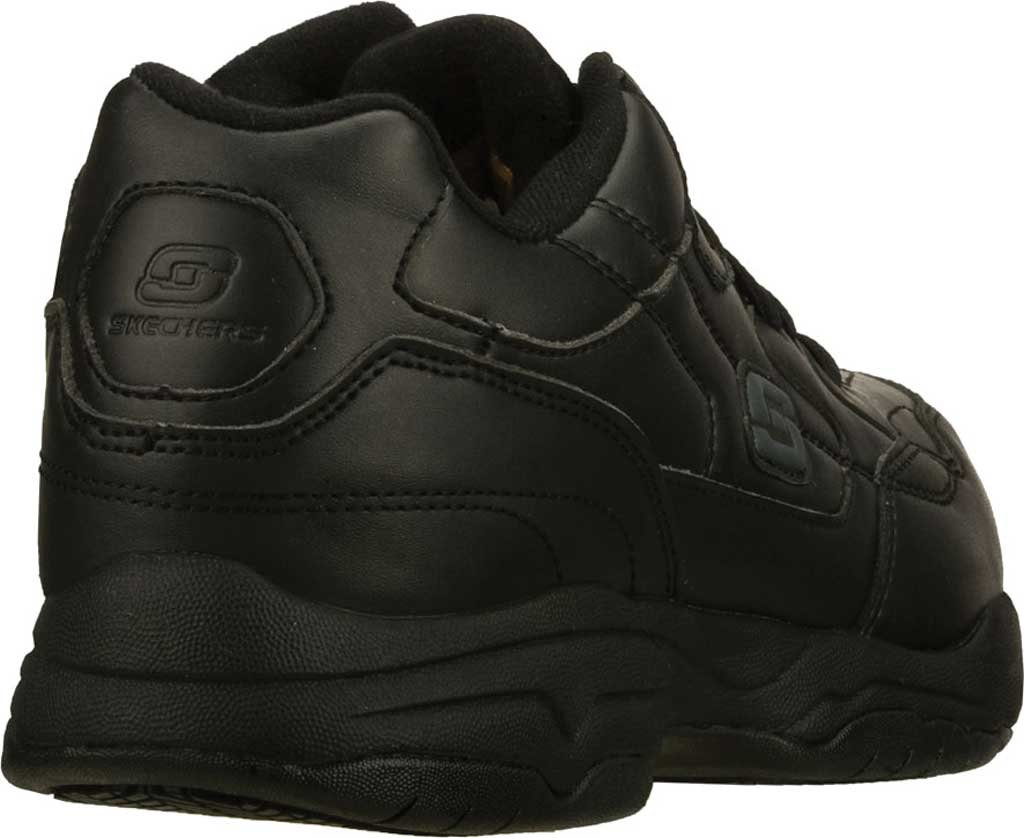 Men's Skechers Work Relaxed Fit Felton Altair Slip Resistant Shoe, Black, large, image 4