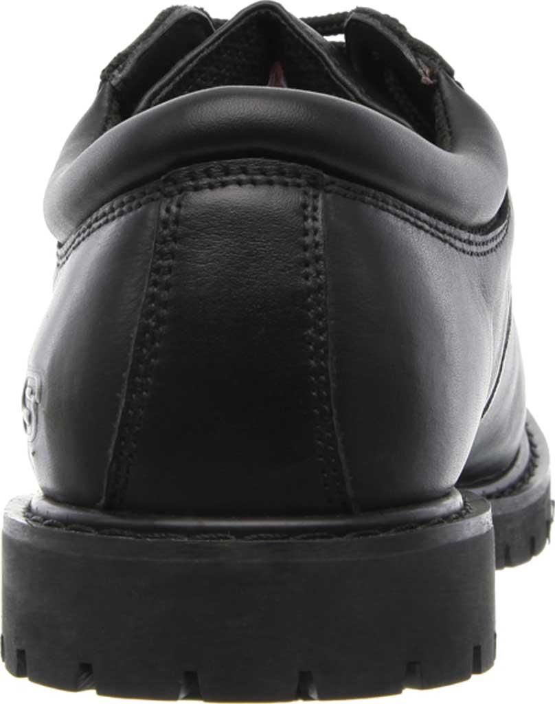 Men's Skechers Work Relaxed Fit Cottonwood Elks SR Shoe, Black, large, image 4