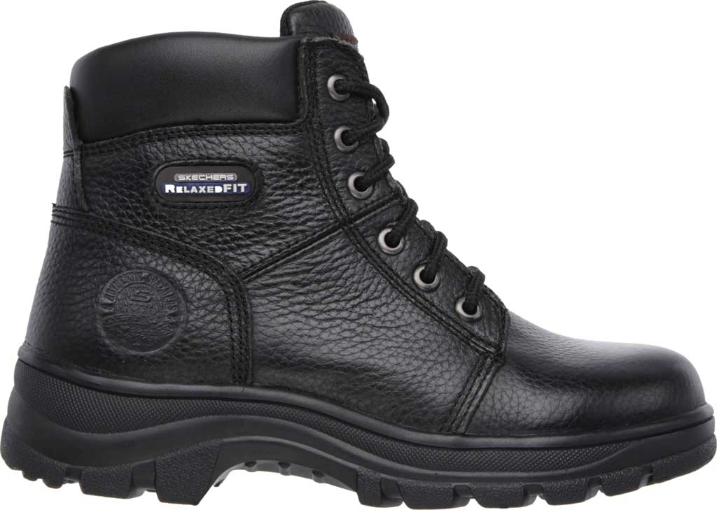 Women's Skechers Work Relaxed Fit Workshire Fitton, Black, large, image 2