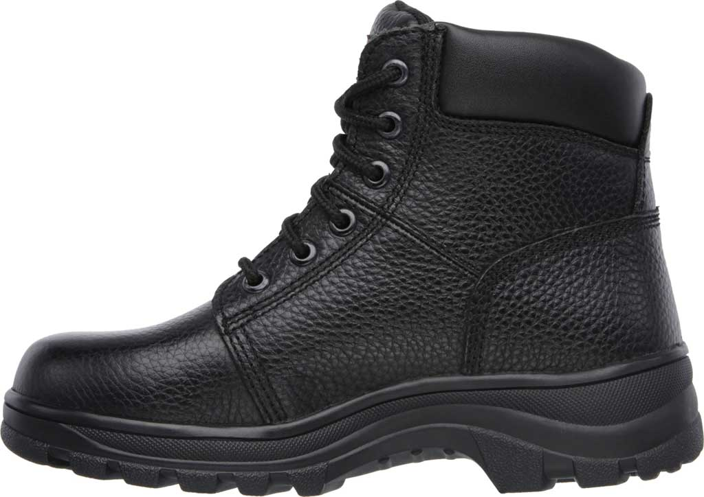 Women's Skechers Work Relaxed Fit Workshire Fitton, Black, large, image 3