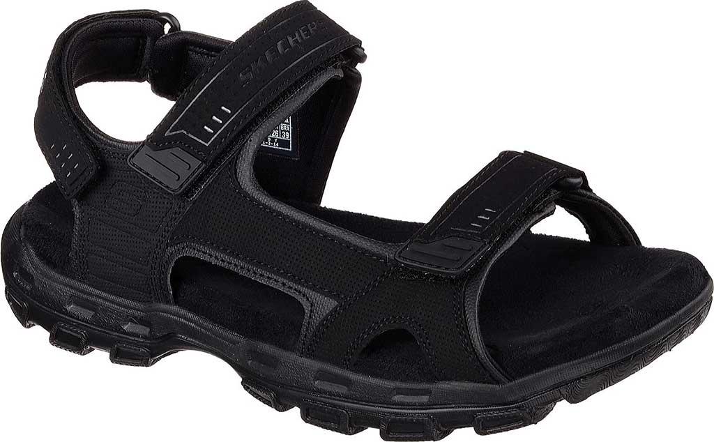 Men's Skechers Relaxed Fit Conner Louden Sport Sandal, Black, large, image 1