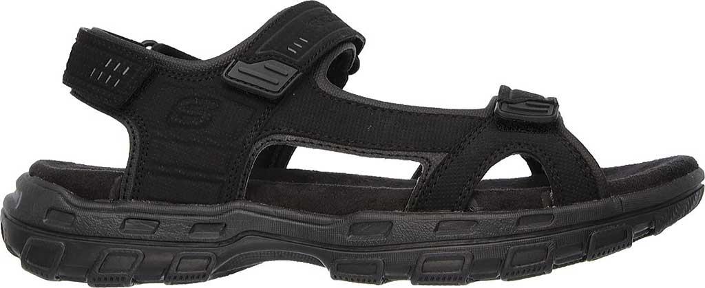 Men's Skechers Relaxed Fit Conner Louden Sport Sandal, Black, large, image 2