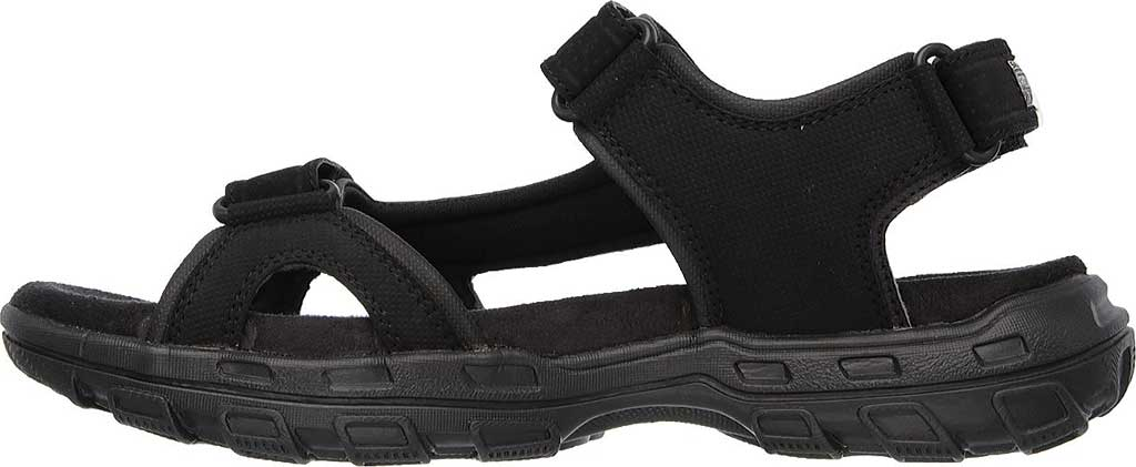Men's Skechers Relaxed Fit Conner Louden Sport Sandal, Black, large, image 3