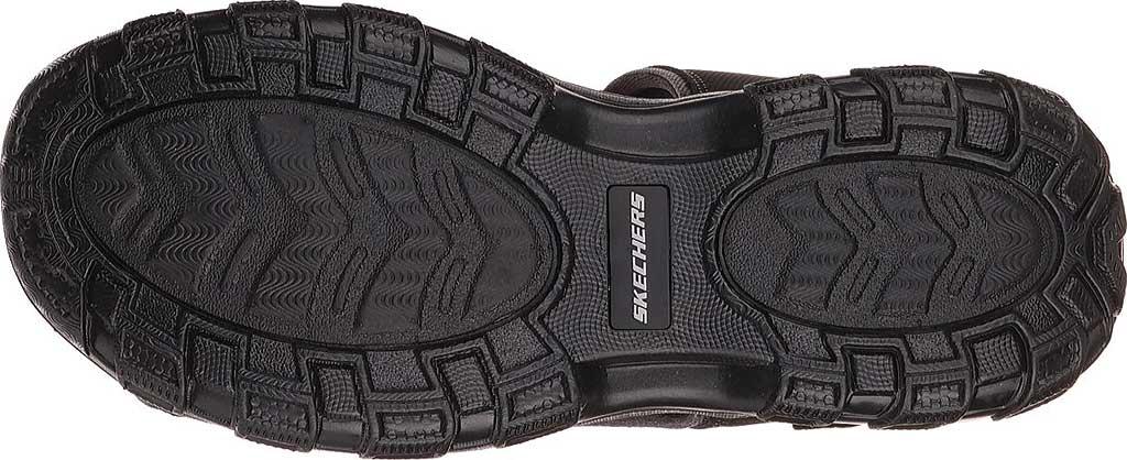 Men's Skechers Relaxed Fit Conner Louden Sport Sandal, Black, large, image 6
