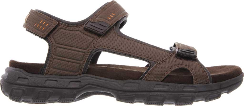 Men's Skechers Relaxed Fit Conner Louden Sport Sandal, Brown, large, image 2