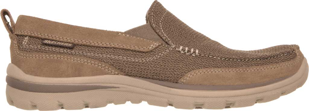 Men's Skechers Relaxed Fit Superior Milford, Light Brown, large, image 2