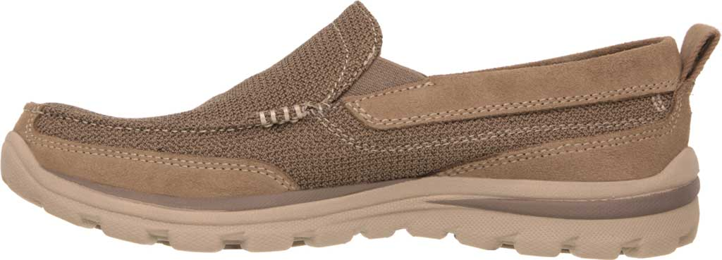 Men's Skechers Relaxed Fit Superior Milford, Light Brown, large, image 3
