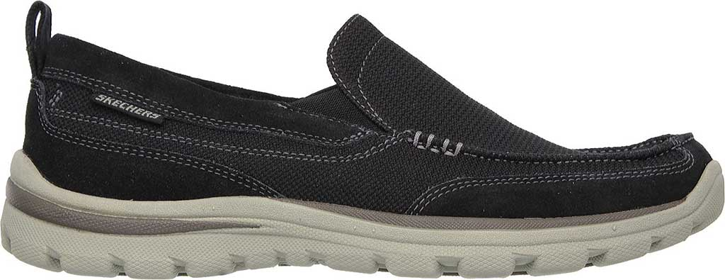 Men's Skechers Relaxed Fit Superior Milford, Black, large, image 2