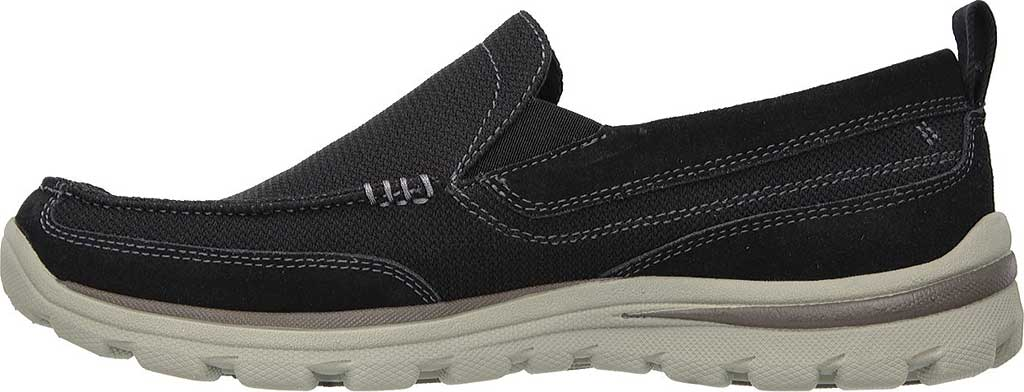 Men's Skechers Relaxed Fit Superior Milford, Black, large, image 3