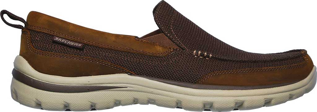 Men's Skechers Relaxed Fit Superior Milford, Brown, large, image 2