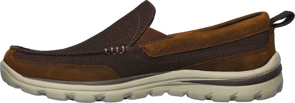 Men's Skechers Relaxed Fit Superior Milford, Brown, large, image 3