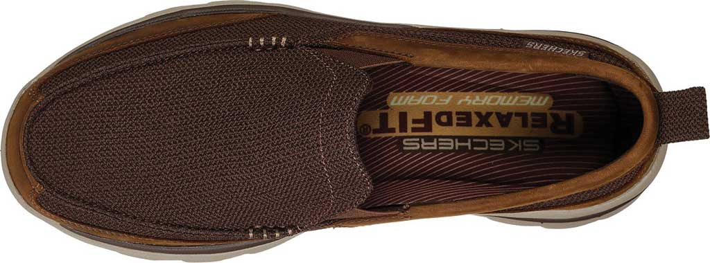 Men's Skechers Relaxed Fit Superior Milford, Brown, large, image 5