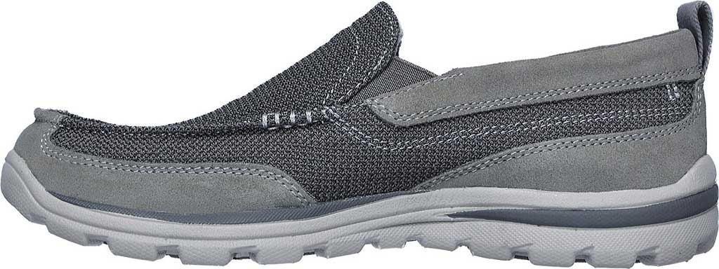 Men's Skechers Relaxed Fit Superior Milford, Charcoal/Gray, large, image 3