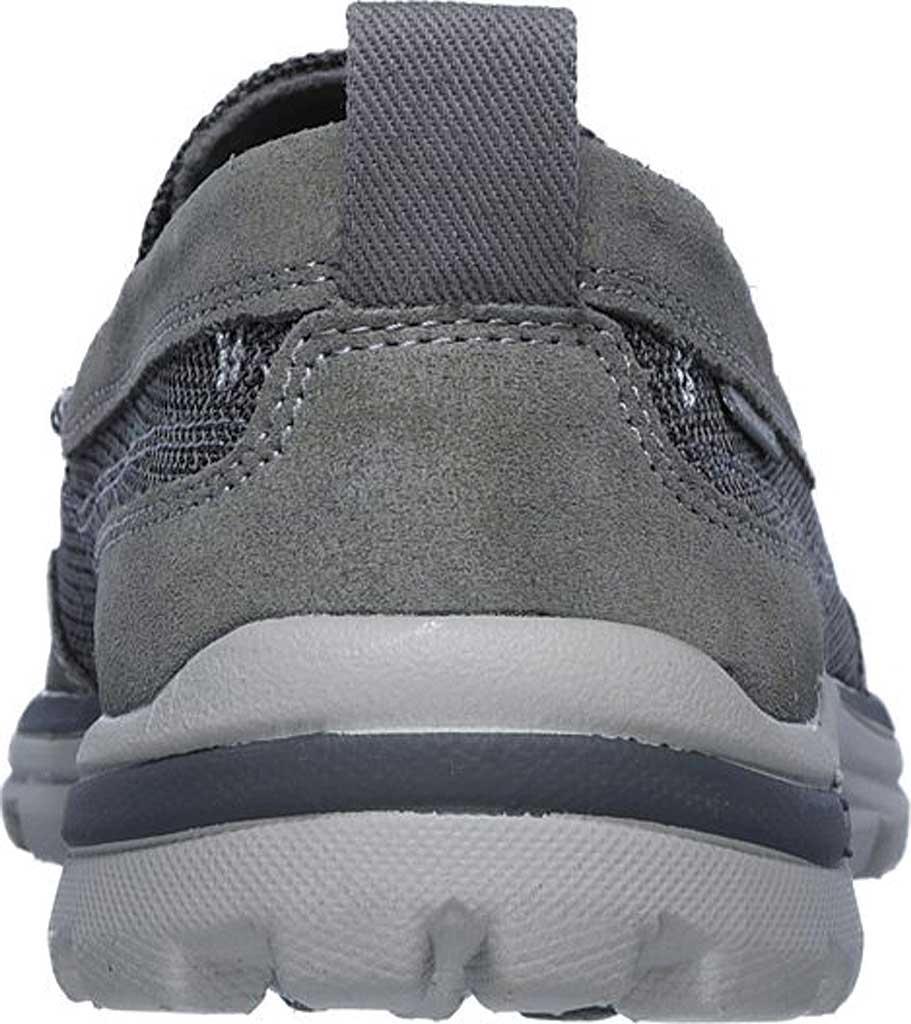 Men's Skechers Relaxed Fit Superior Milford, Charcoal/Gray, large, image 4