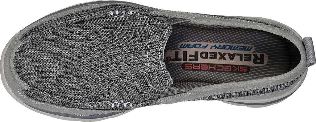 Men's Skechers Relaxed Fit Superior Milford, Charcoal/Gray, large, image 5