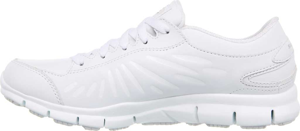 Women's Skechers Work Relaxed Fit Eldred Dewey SR, White, large, image 3