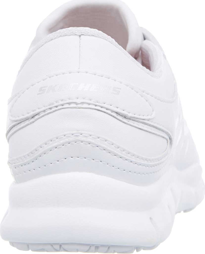 Women's Skechers Work Relaxed Fit Eldred Dewey SR, White, large, image 4