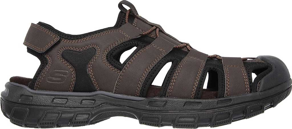 Men's Skechers Conner Sandal, Chocolate, large, image 2