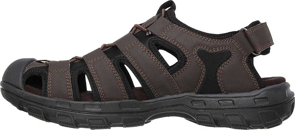 Men's Skechers Conner Sandal, Chocolate, large, image 3