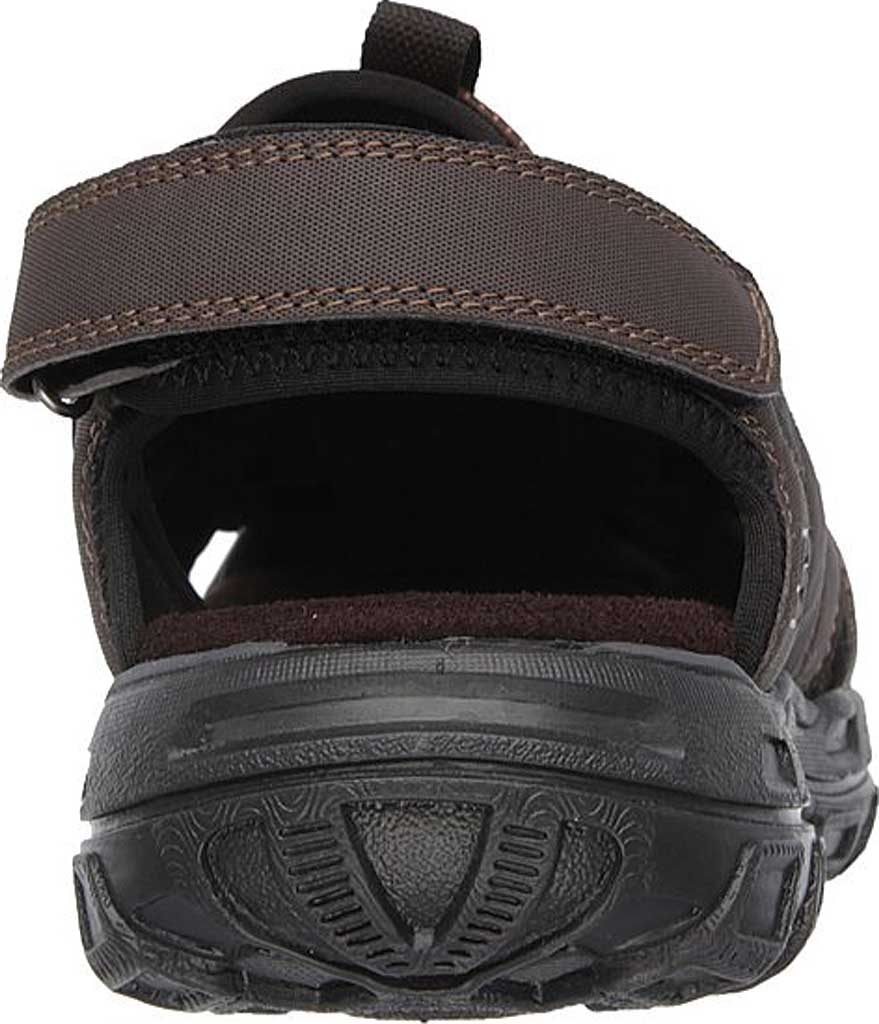Men's Skechers Conner Sandal, Chocolate, large, image 4