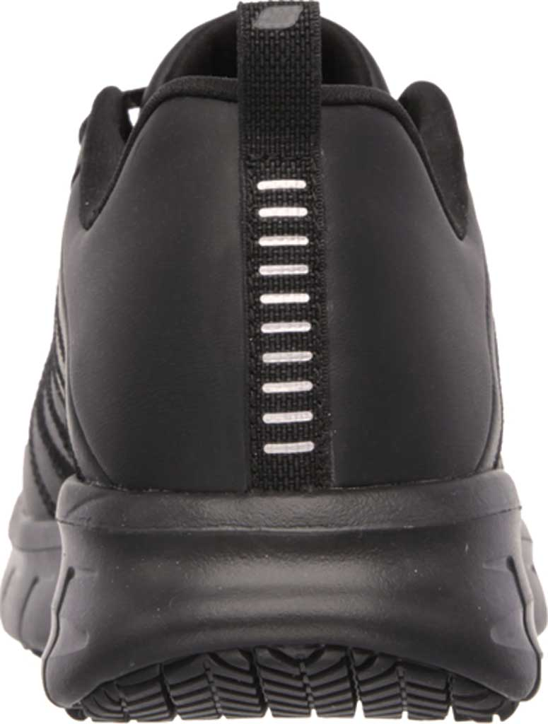 Women's Skechers Work Relaxed Fit Sure Track Erath SR Shoe, Black, large, image 4