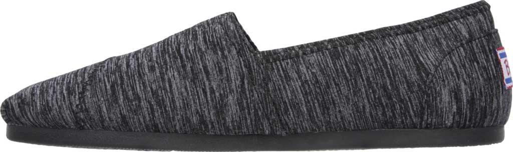 Women's Skechers BOBS Plush Express Yourself Alpargata, Black, large, image 3