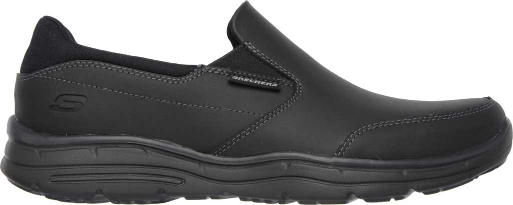 Men's Skechers Relaxed Fit Glides Calculous Slip On, Black, large, image 2