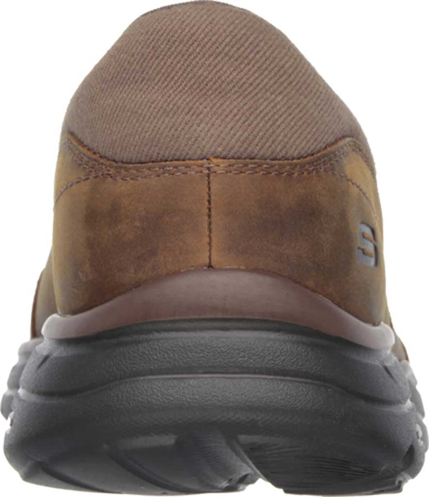 Men's Skechers Relaxed Fit Glides Calculous Slip On, Dark Brown, large, image 4
