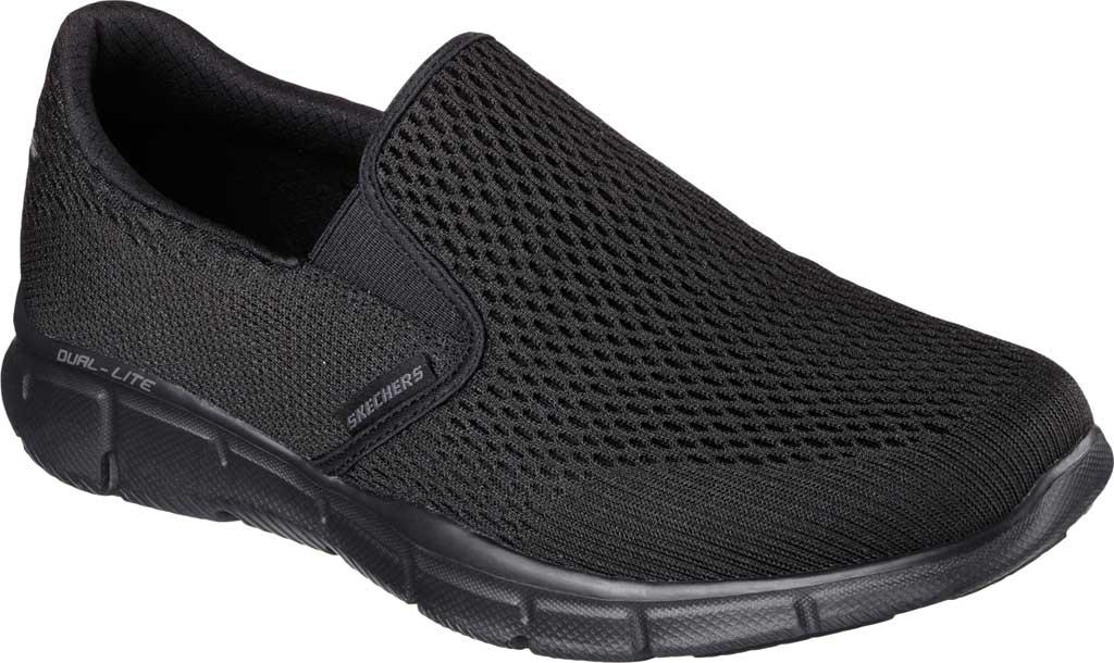 Men's Skechers Equalizer Double Play Slip On, Black, large, image 1