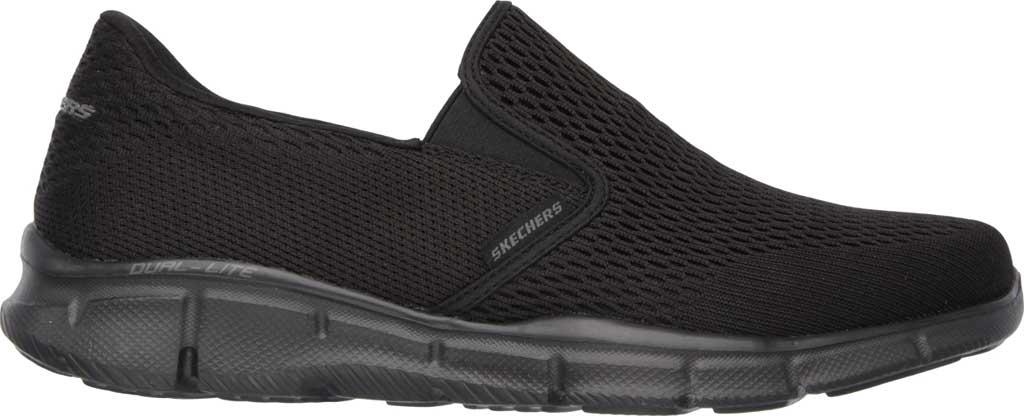 Men's Skechers Equalizer Double Play Slip On, Black, large, image 2