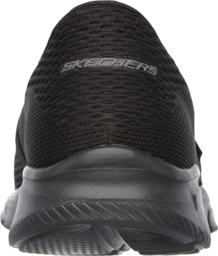 Men's Skechers Equalizer Double Play Slip On, Black, large, image 4