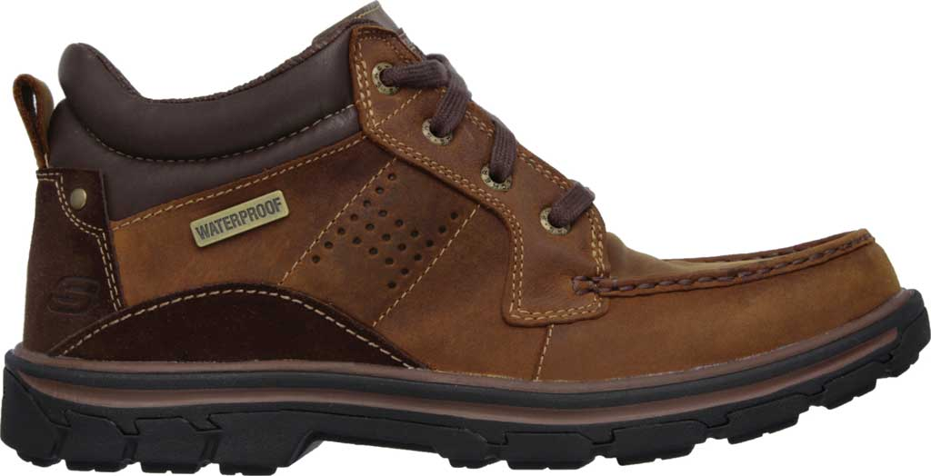 Men's Skechers Relaxed Fit Segment Melego, Dark Brown, large, image 2