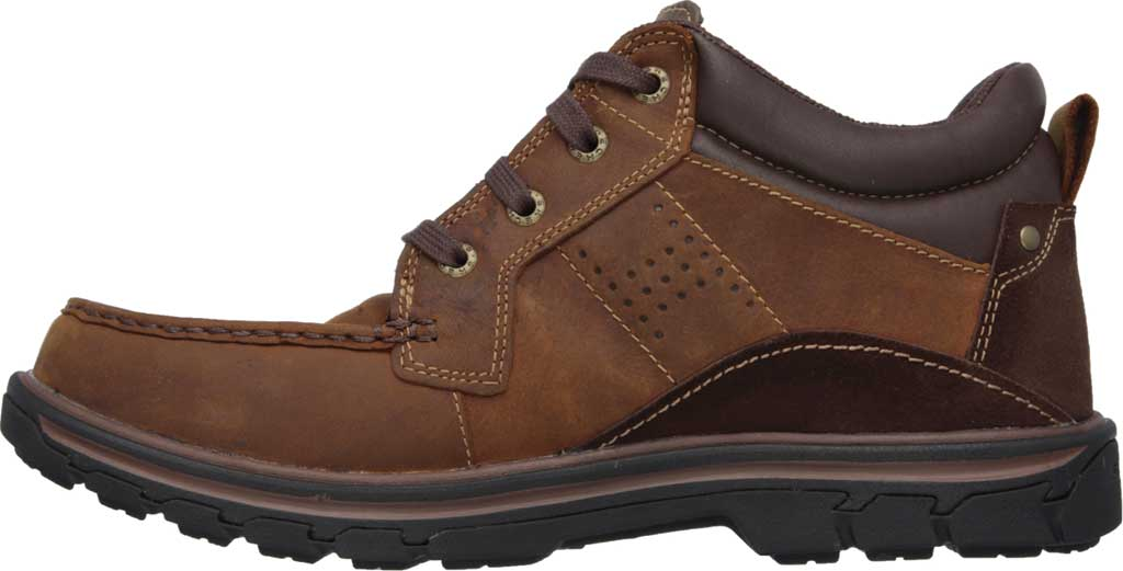 Men's Skechers Relaxed Fit Segment Melego, Dark Brown, large, image 3