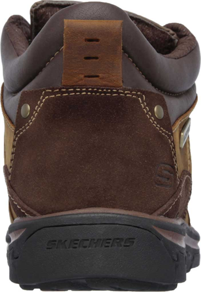 Men's Skechers Relaxed Fit Segment Melego, Dark Brown, large, image 4