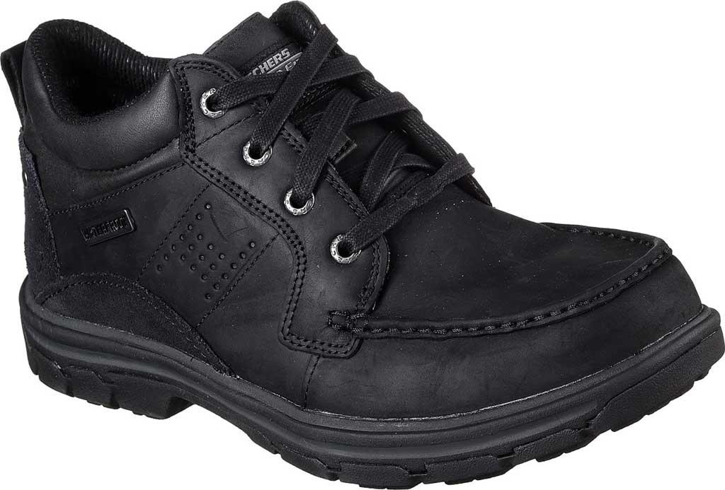Men's Skechers Relaxed Fit Segment Melego, Black/Black, large, image 1