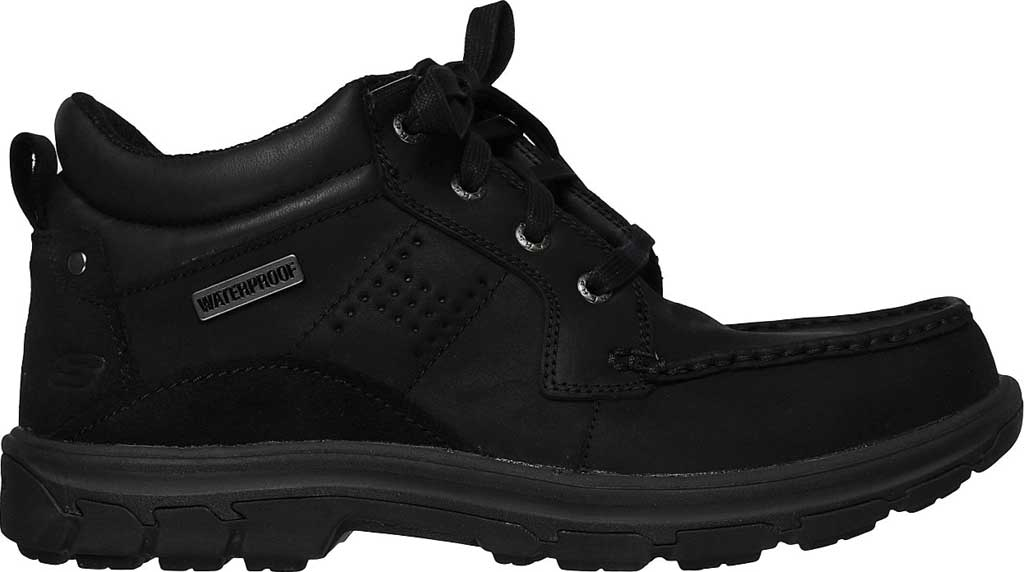 Men's Skechers Relaxed Fit Segment Melego, Black/Black, large, image 2