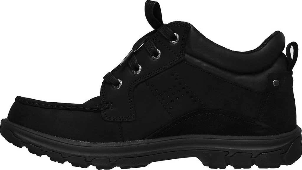 Men's Skechers Relaxed Fit Segment Melego, Black/Black, large, image 3