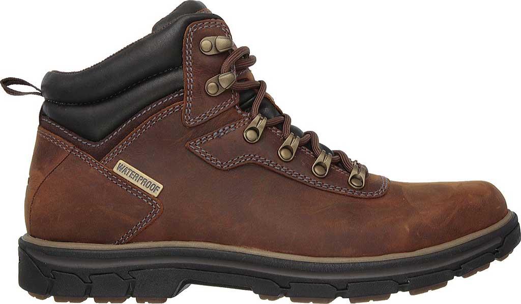 Men's Skechers Relaxed Fit Segment Ander Boot, Dark Brown, large, image 2