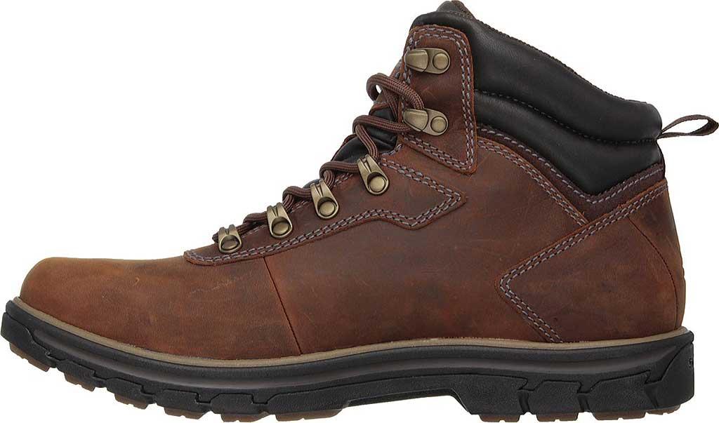 Men's Skechers Relaxed Fit Segment Ander Boot, Dark Brown, large, image 3