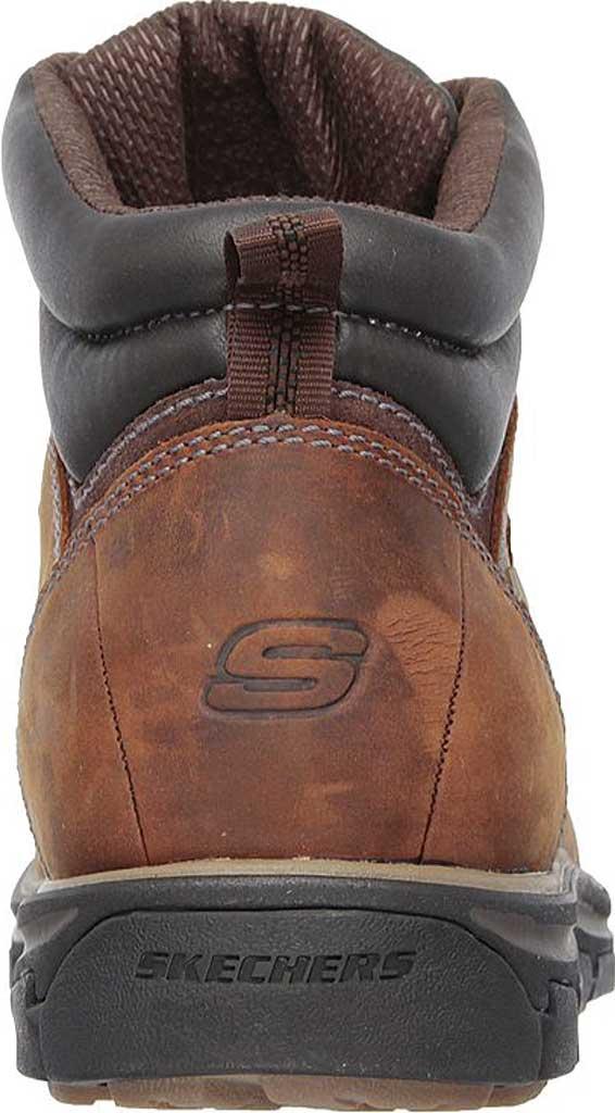 Men's Skechers Relaxed Fit Segment Ander Boot, Dark Brown, large, image 4