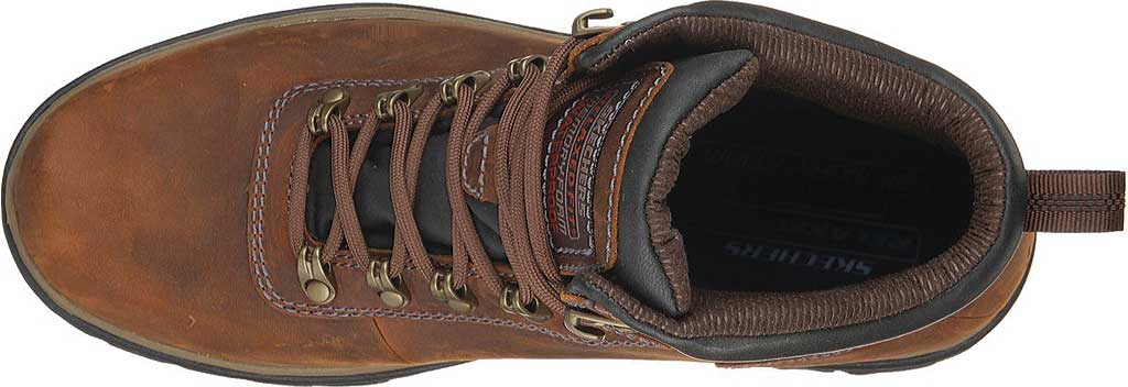 Men's Skechers Relaxed Fit Segment Ander Boot, Dark Brown, large, image 5