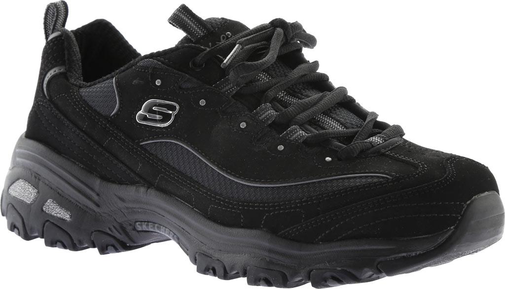 Women's Skechers D'Lites Sneaker, Biggest Fan/Black, large, image 1