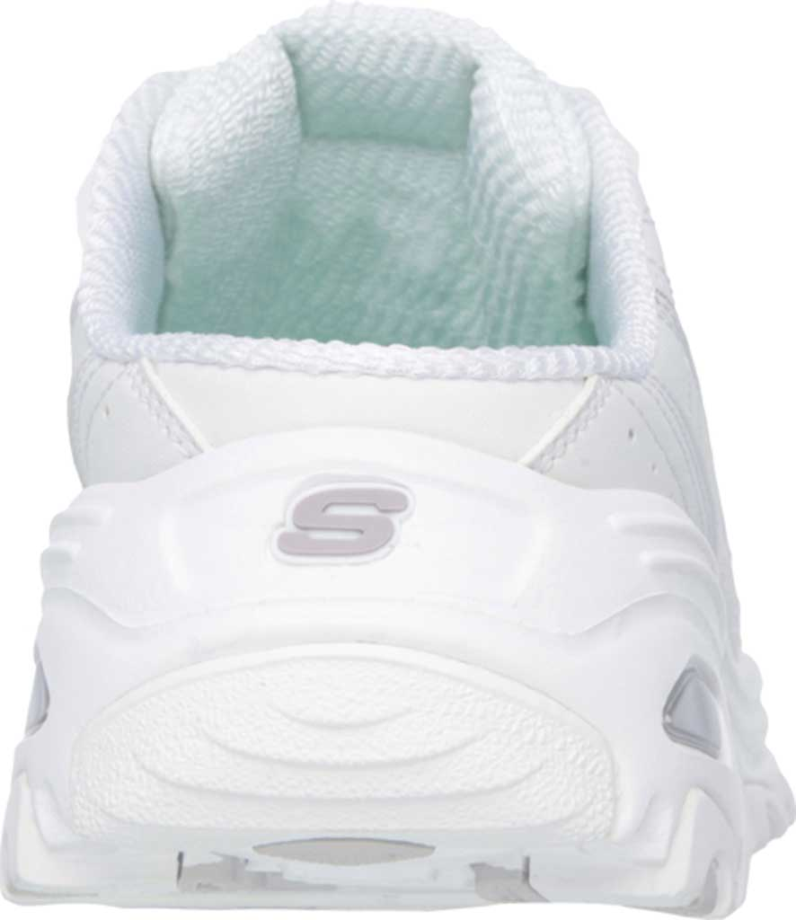 Women's Skechers D'lites Bright Sky Sneaker Clog, White/Silver, large, image 4