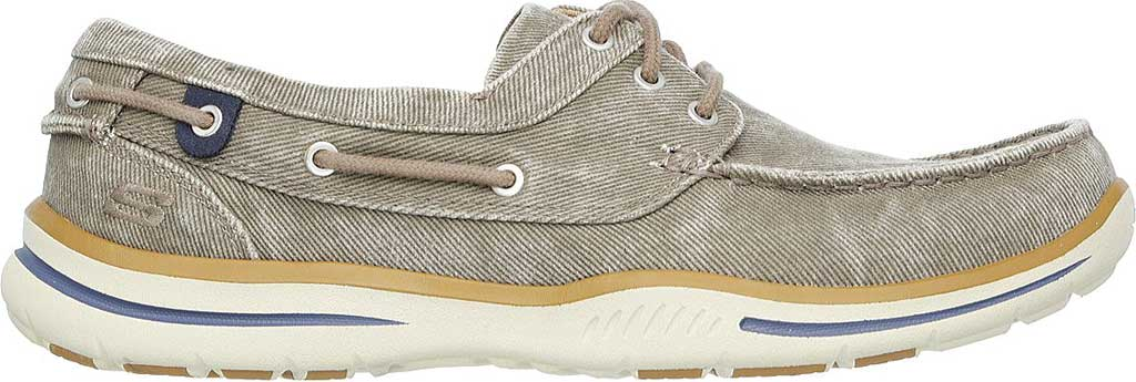 Men's Skechers Relaxed Fit Elected Horizon Boat Shoe, Light Brown, large, image 2