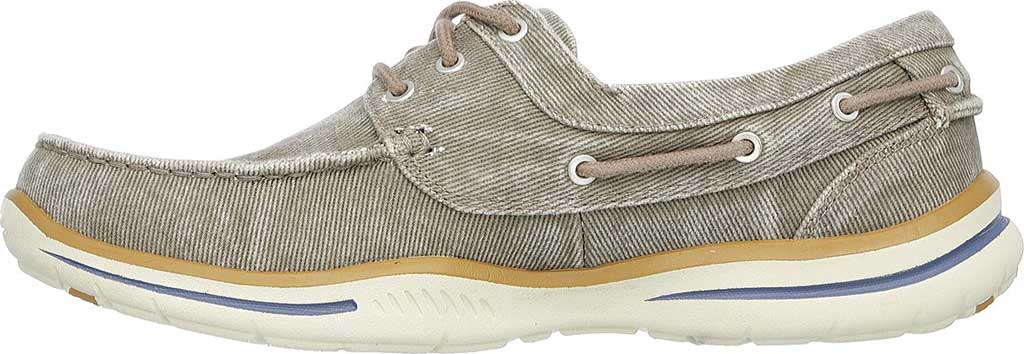 Men's Skechers Relaxed Fit Elected Horizon Boat Shoe, Light Brown, large, image 3